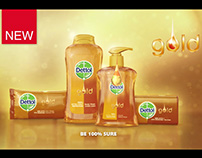 DETTOL GOLD with breakdown.