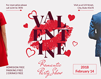 Valentine's Day Modern and Creative Design Templates