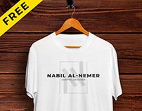 Realistic T-shirt Mockup Free