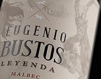 Eugenio Bustos Leyenda | LA CELIA