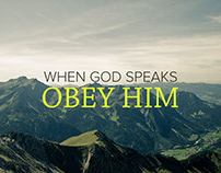 Obedience to God will. Daily meditations.