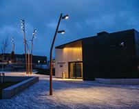 Straume City Center Lighting design