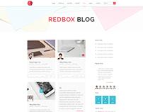 Multipurpose Blog PSD Template V 02
