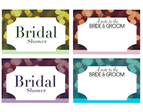 Notecards: Bride & Groom