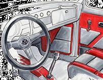 Volkswagen Custom Interior Redesign Project