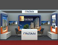 Ontan İnşaat Fuar Stand Tasarımı Cityscape / İSTANBUL