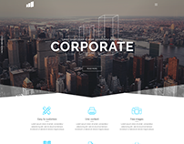 Corporate - Themeforest PSD Template