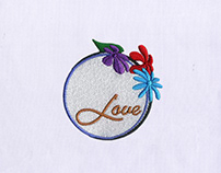 LOVE DETAILED FLOWER BOX EMBROIDERY DESIGN