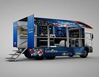 Camión Vitrina Samsung