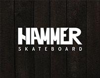 Skateboard deck illustrations for HAMMER SKATEBOARDS.