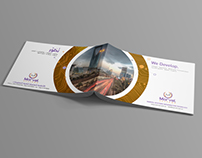 Company Profile Design in English and Arabic