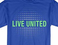 Palmetto Health and Live United T-shirt design