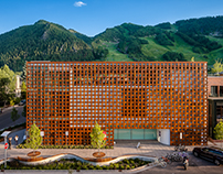 Aspen Art Museum by Shigeru Ban Architects