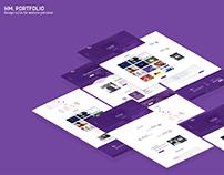 HM web design UX/UI