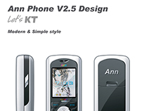 KT Ann Phone V2.5 Design