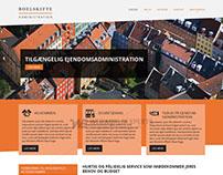 Boelskifte Administration - Custom Web Design