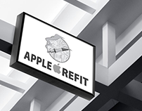 Logo design: Apple Refit