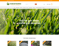 Western Turf & Hardscapes Website
