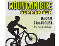 Mountain Bike Flyer Template (FREE PSD)