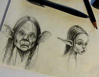 Characters based on Jean-Baptiste Monge