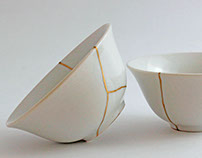 Kinenzo, Kintsugi for you Beauty lies in imperfection