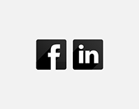 Facebook & LinkedIn— Visual design for online banners
