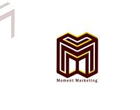 Logo For Moment Digital Marketing Company.