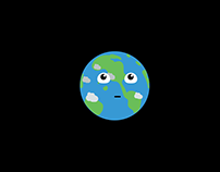 HTML/CSS/JS Greensock Animation of Planet