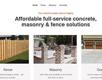 Web Design For A Construction Company