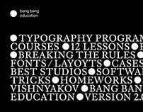 Typography Program BBE 2.0—3.0