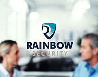 Rainbow Security - branding