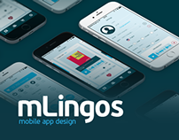 mLingos — Mobile app Design