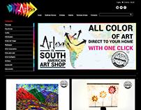 Artesa - Sitio web Wordpress