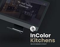 InColor Kitchens Website