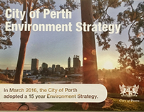 City of Perth Environment Strategy - Promotion Postcard