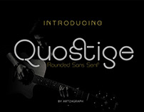 Quostige - Rounded Sans Serif