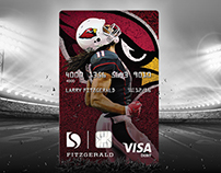 Larry Fitzgerald Debit Card