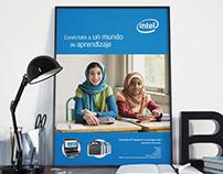 Campaña gráfica Intel Classmate PC