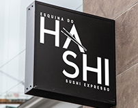 Esquina do Hashi - Logo