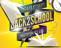 Back to School Party Flyer Template v6