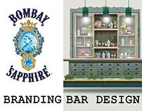 BOMBAY SAPPHIRE BAR DESIGNS