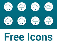 Free Weather Line Icons