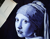 Girl with a Pearl Earring Reloaded