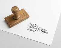 Statkiem po trawie || Logo