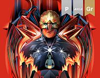 Birdman - vector collaboration