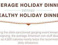 Holiday Dinner Infographic
