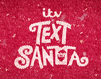 Text Santa 2015 Identity