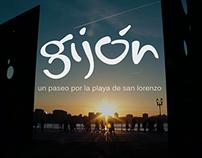 Gijón, un paseo por la playa de San Lorenzo