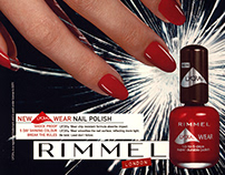 Rimmel: Magazine advertising