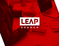 Logo & Brand Identity- Leap Search